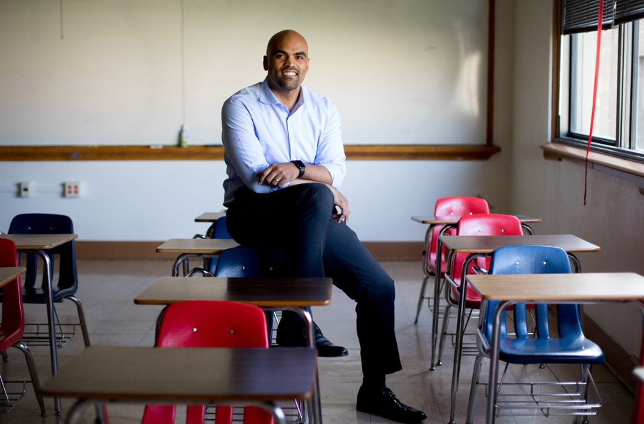 Democrat Colin Allred is running for the 32nd Congressional District seat in Texas.
