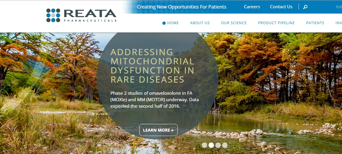 Reata is a clinical trial-based company that's developing drugs to fight heart disease and rare muscular and nervous system-related diseases. (Reata)