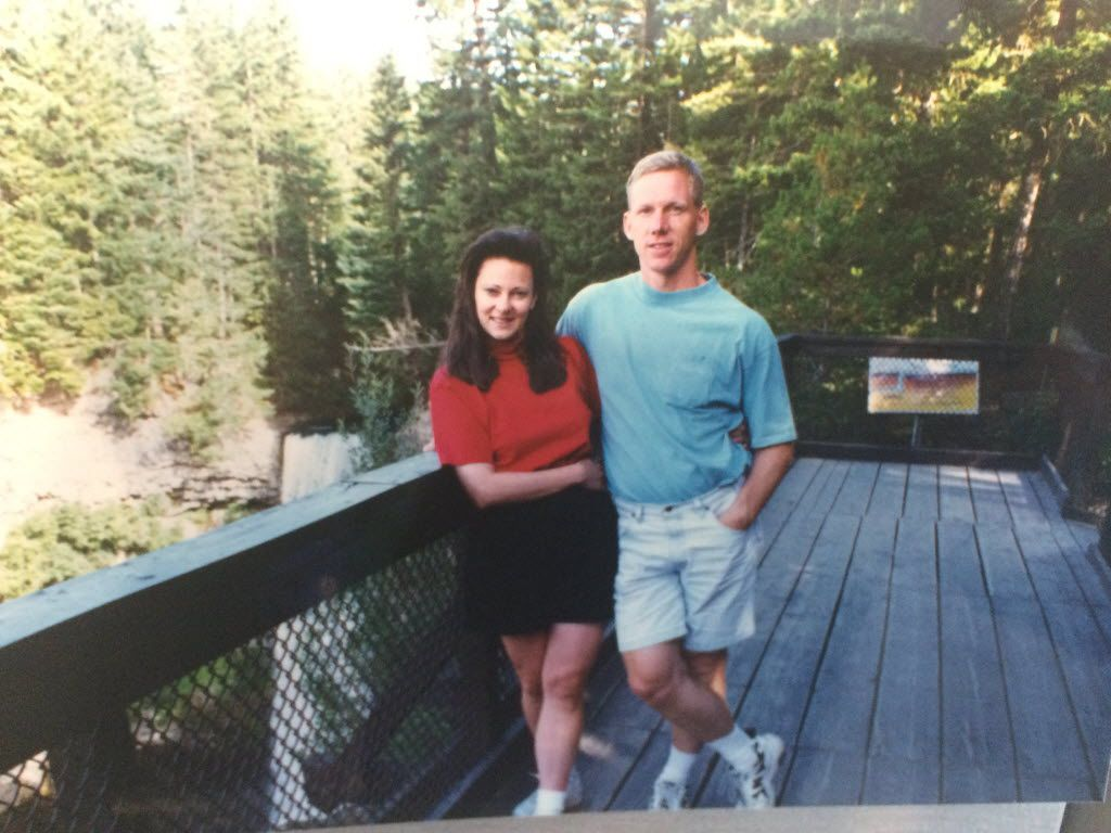 Dave and Patti Stevens, shown in an undated family photo. Dave, 53, a marathoner, died in a random attack by a troubled former football player while he was running at White Rock Lake on Oct. 12, 2015.