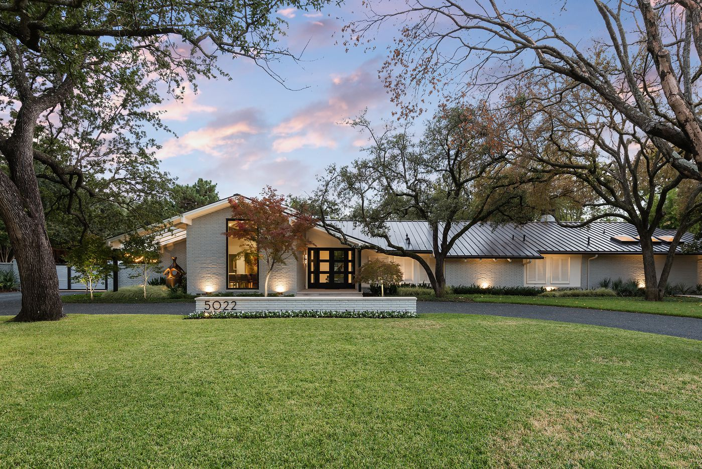 Take a look at 5022 Pebblebrook Drive in Dallas, TX.