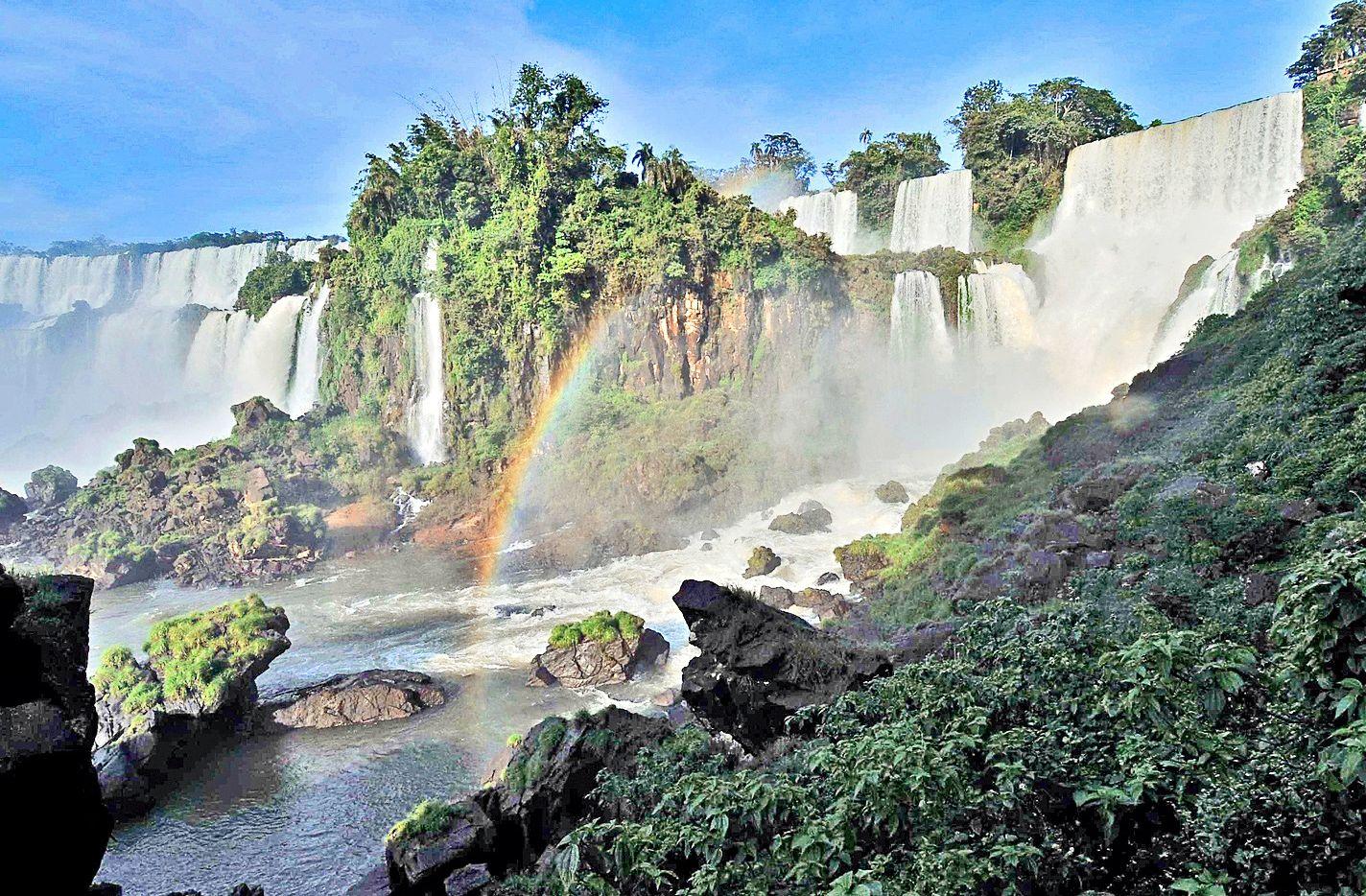 Parque Natural de las Cataratas de Iguazú. AGENCIA REFORMA.
