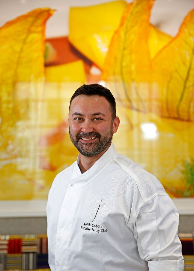 Mirador's executive pastry chef Keith Cedotal is one of Dallas' most talented. (Jae S. Lee/The Dallas Morning News)