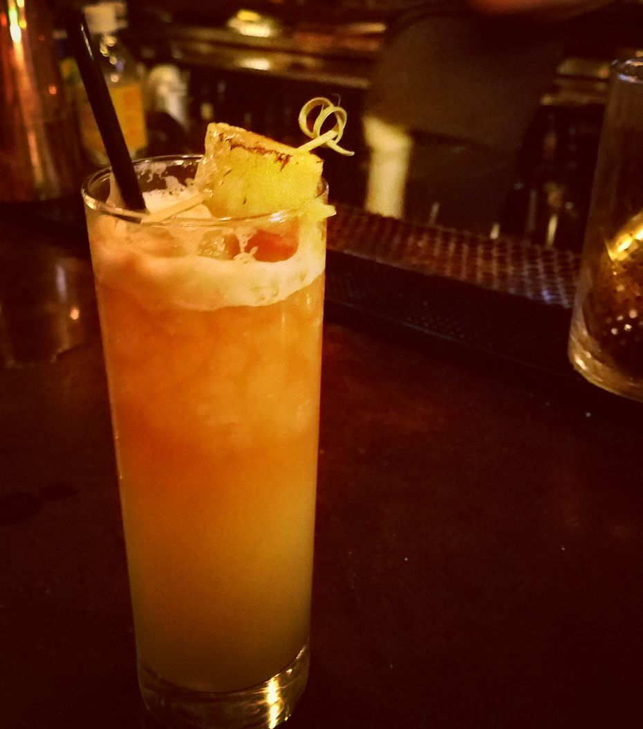 If you like Pina Coladas, escape to Armoury DE for bartender Chad Yarbrough's tangy translation.