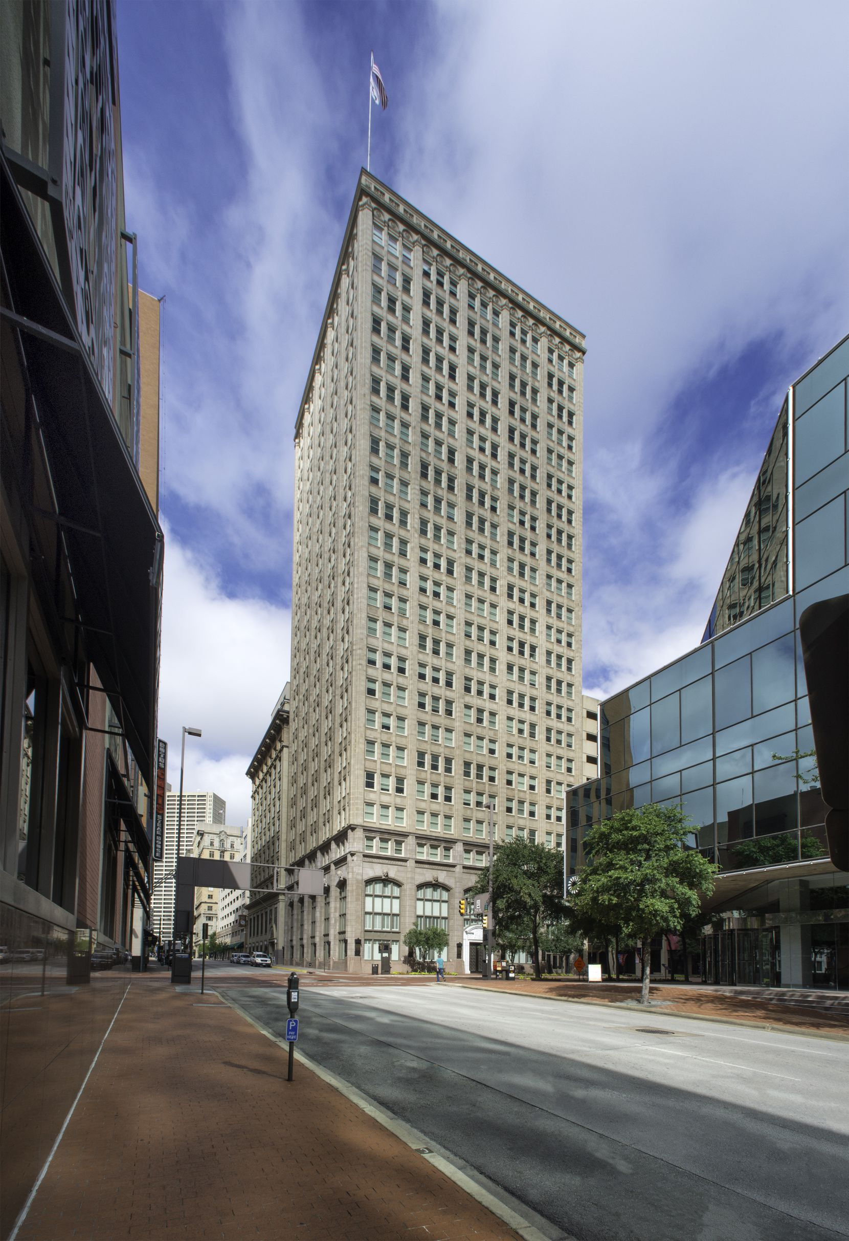 The historic tower will house a 226-room Kimpton Hotel.
