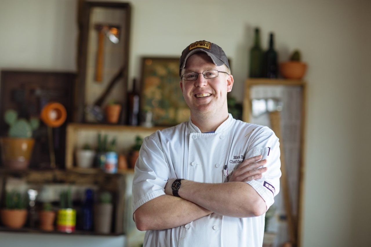 Matt Balke of Encina restaurant