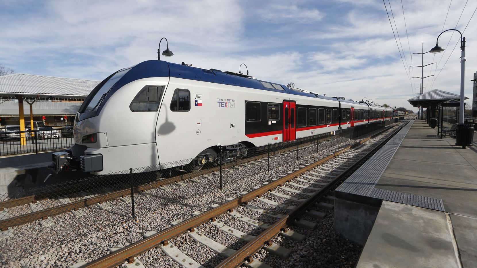 Passengers headed to get their COVID-19 vaccines can ride for free on TEXRail starting Monday.