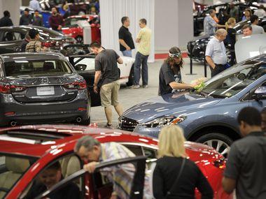 The Dallas Auto Show in 2014.