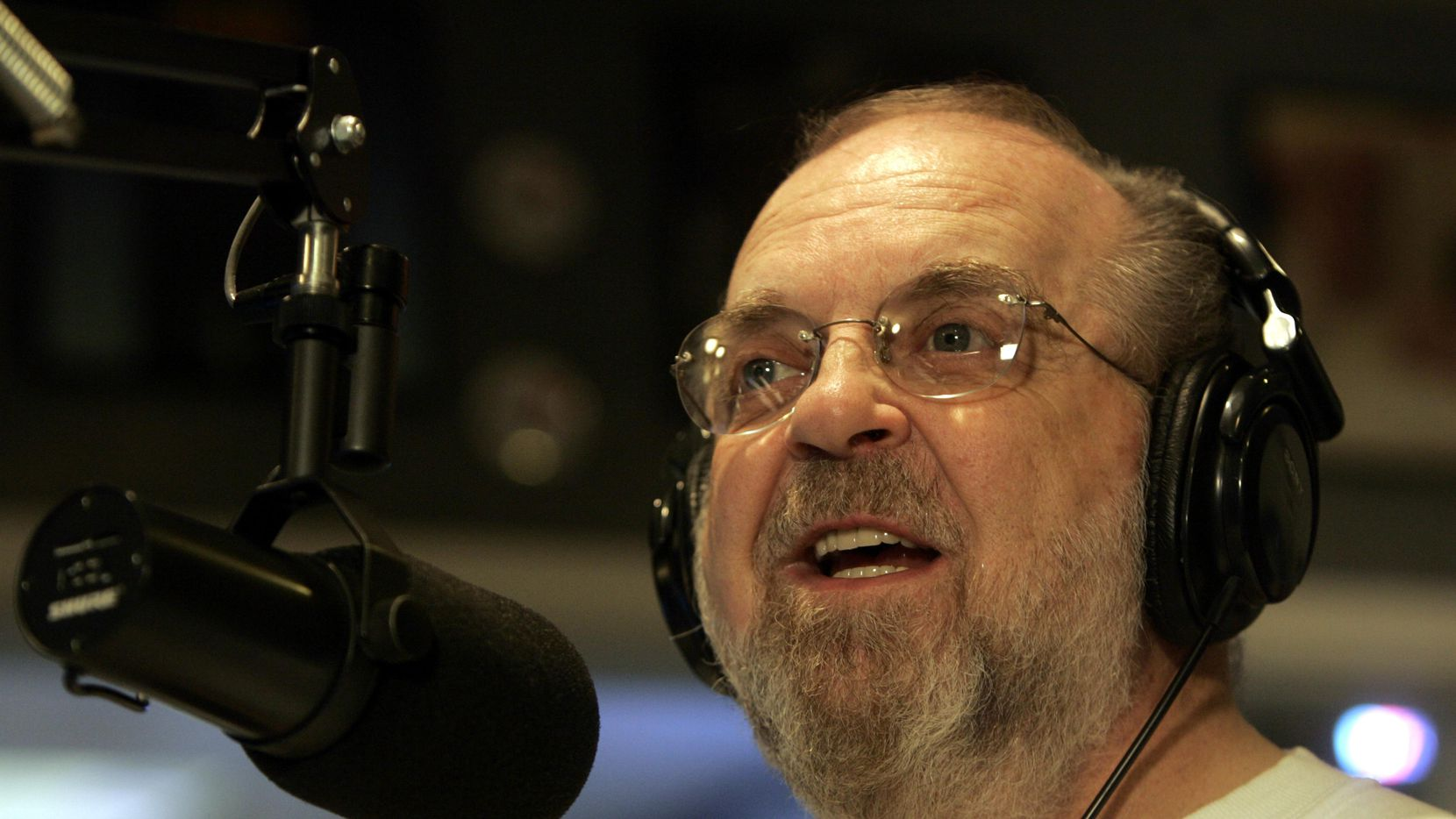 Radio personality Ron Chapman hosts his final show for KLUV on Friday, June 24, 2005.