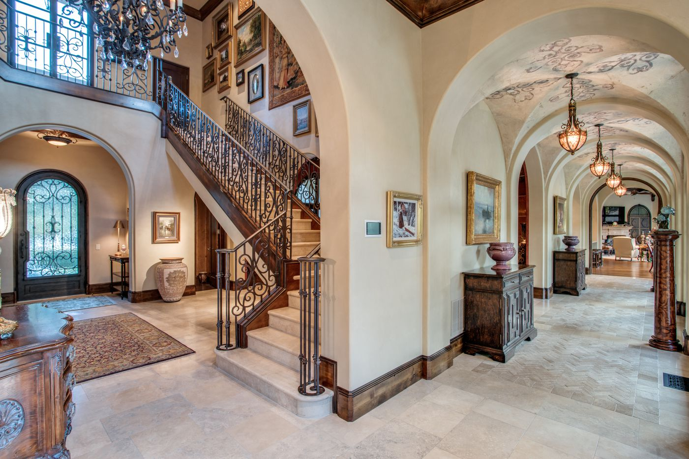 Take a look at the Tuscan style home at 5335 Meaders Lane in Dallas, TX.