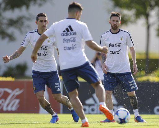 Lionel Messi y la selección argentina están quintos en Sudamérica camino al Mundial. Foto AP