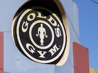 A shuttered Gold's Gym building is photographed at the corner of Fairmount Street and McKinney Avenue, Wednesday, May 6, 2020 in Dallas.