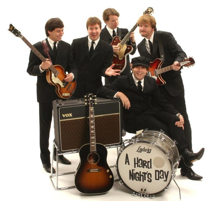 File photo of Beatles tribute band, A Hard Night's Day.