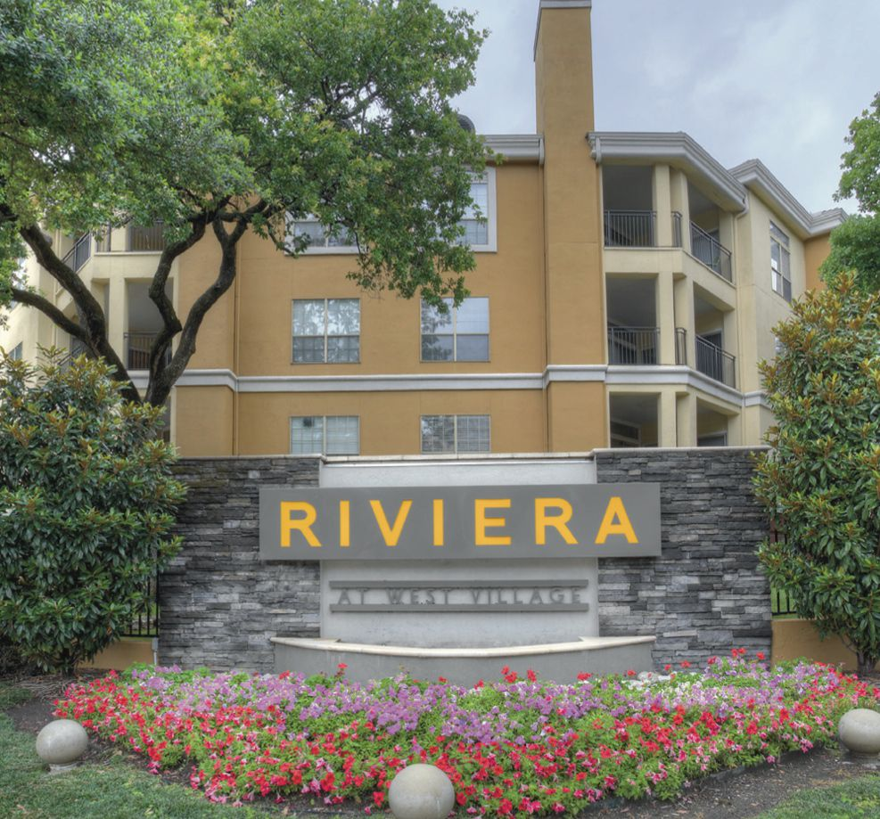 The Riviera at West Village apartments were built in 1995.