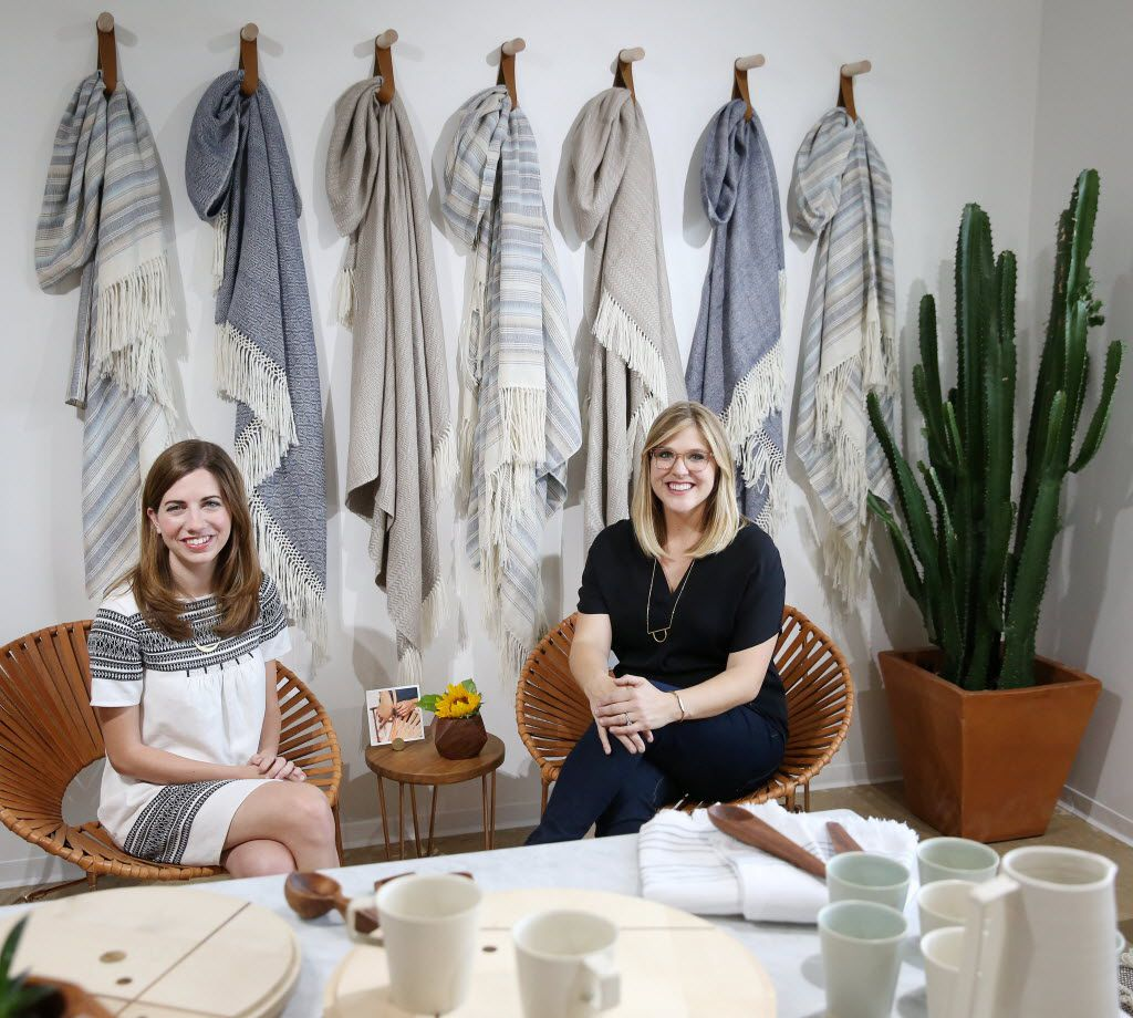 Rachel Bentley and Carly Nance, co-founders of The Citizenry, launched their home decor brand in August 2014. Their items are made by artisans in different countries with the country's natural resources. The Citizenry sells its collections online and in its Knox-Henderson showroom.