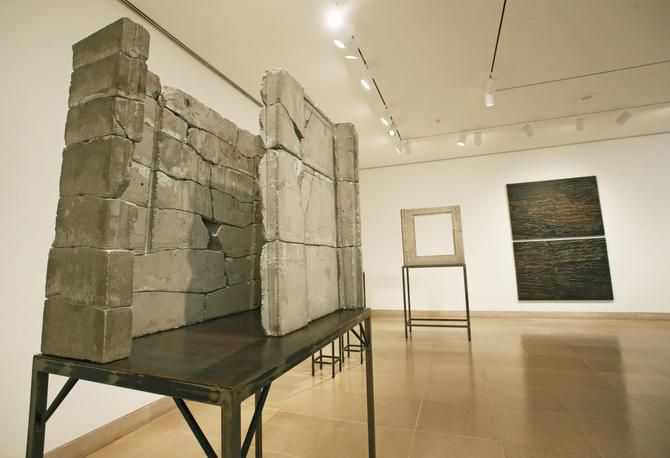 The Isa Genzken retrospective at the Dallas Museum of Art, 1717 N. Harwood in Dallas on Wednesday, October 1, 2014.