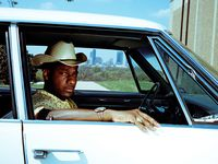 """Leon Bridges in Fort Worth. A challenging period of self-reflection spawned Leon Bridges' third album, """"Gold-Diggers Sound."""""""