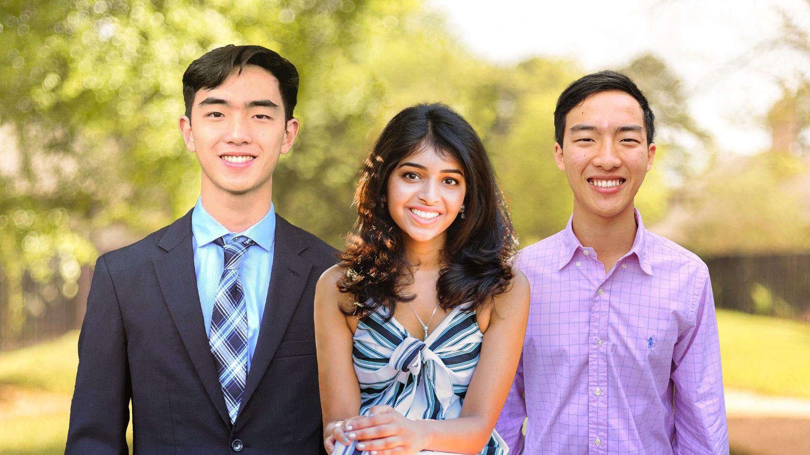 Allen Zhou, Aditi Merchant and Anthony Zhou, founders of Big & Mini.