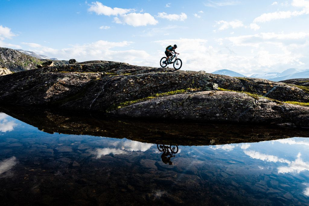 Guests can hike or ride mountain bikes during the summer months at Niehku Mountain Villa.