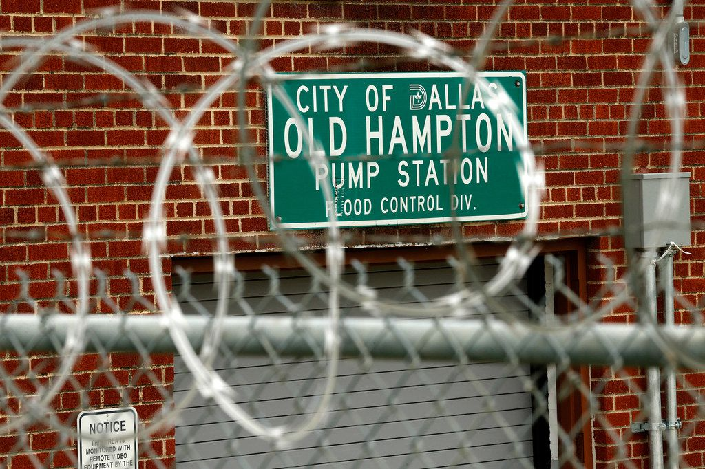 One of four pump stations to be build, a redo or a makeover with federal and city bond money