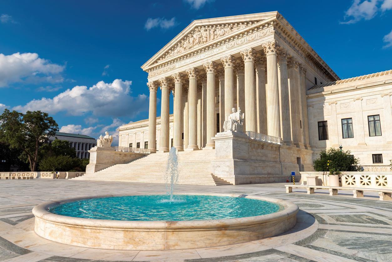 La Corte Suprema de Justicia en Washington, D.C.(GETTY IMAGES)