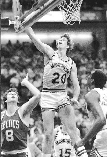 Bill Garnett / Dallas Mavericks / 1984 file photo (staff)