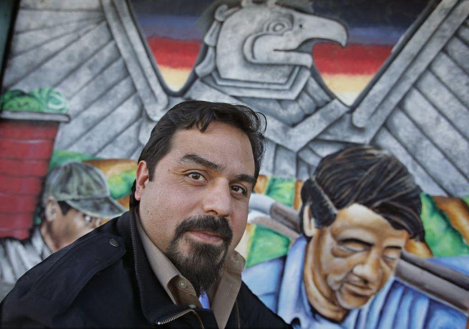 David Lozano of Cara Mia Theatre Company participated in the Festival of Ideas in Dallas in 2015.
