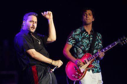 Reik, el grupo mexicano, participó en el Latino Mix Live de Uforia Music en el Dos Equis Pavilion at Fair Park, el viernes por la noche.OMAR VEGA/ ESPECIAL PARA AL DIA