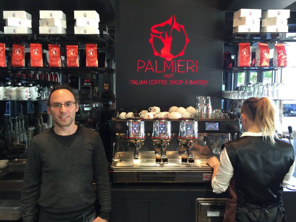 Corrado Palmieri, owner of Palmieri Cafe