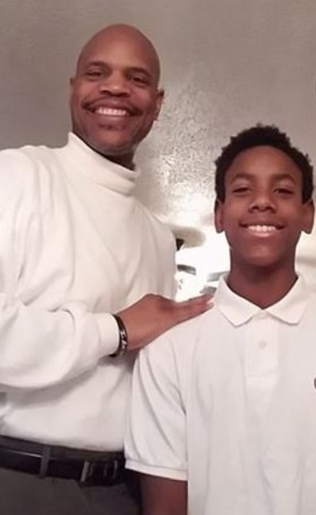 Ira Hill and his son Aaron