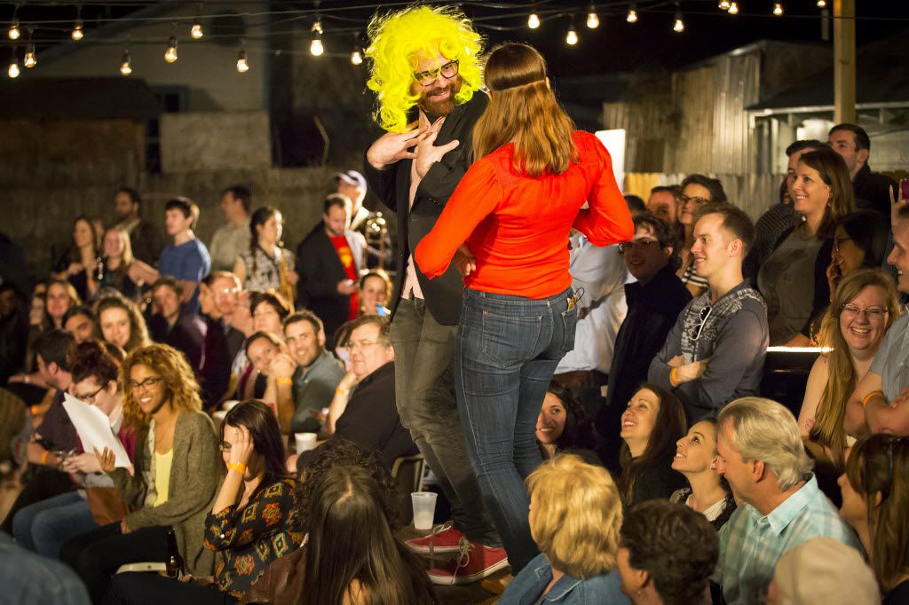 """Here's a performance of """"Shakespeare in the Bar: Much Ado About Nothing"""" in March."""