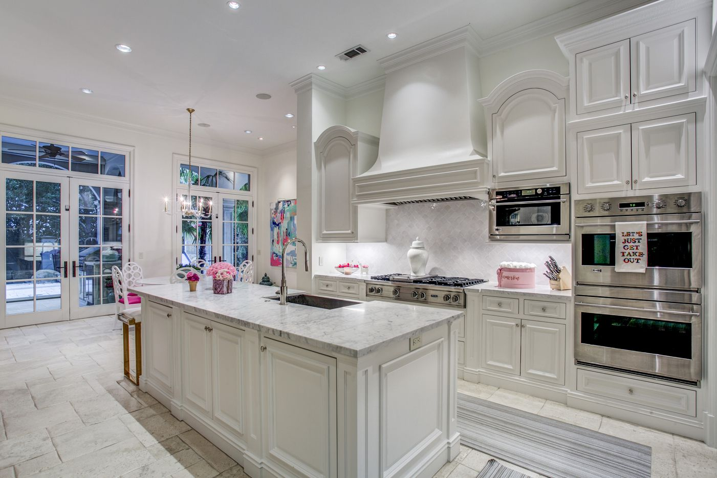 A look at the kitchen of the Dallas home Kameron Westcott is selling.