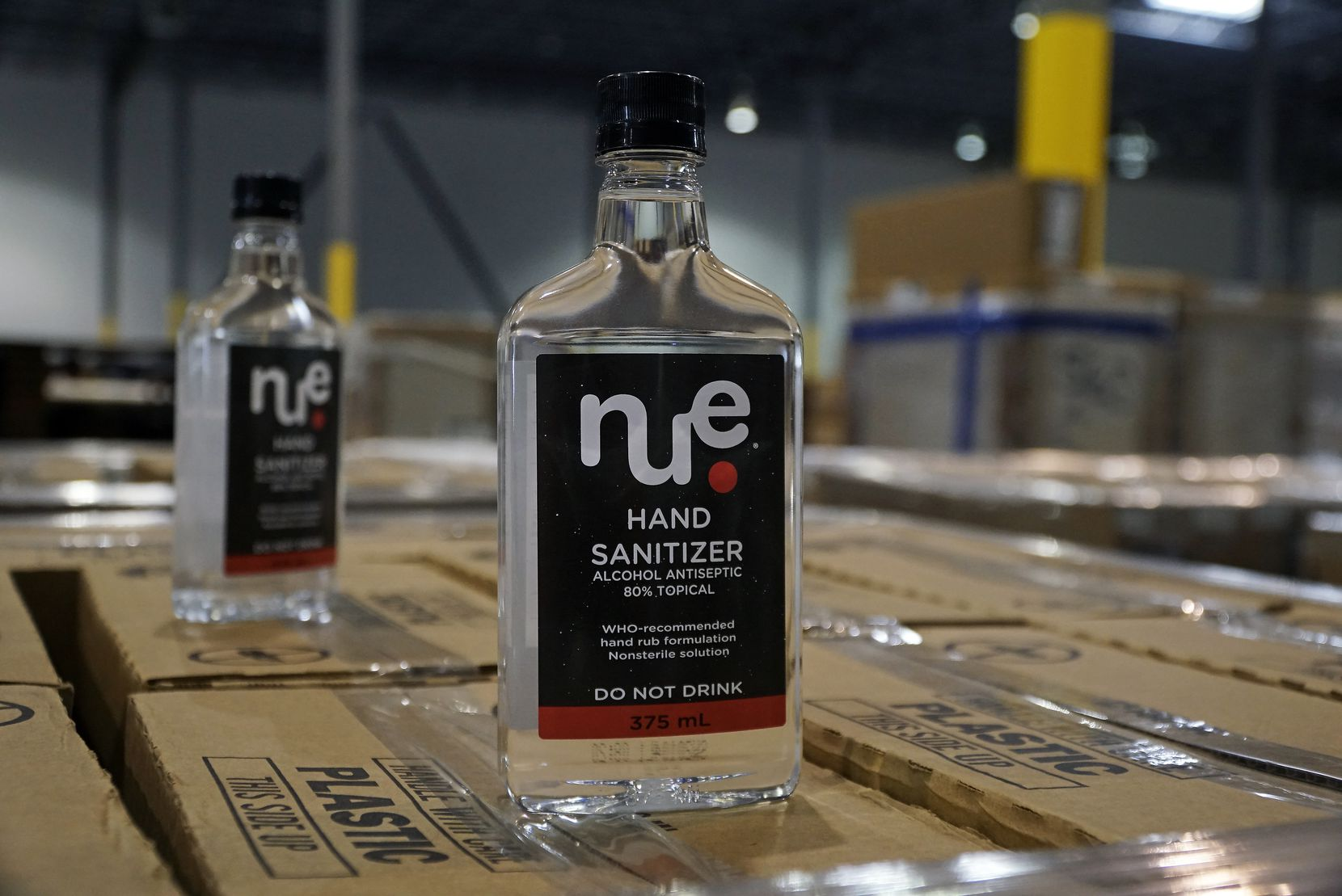 Southwest Spirits donated over 10,000 bottles of hand sanitizer to first responders in Dallas on Thursday