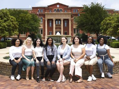Some of Southlake's young people are attacking issues of racism head on. The Watchdog helps them understand a key part of their city's history. Here are members of Southlake's new Progressive Activism Club (from left) Alika Osadolor, Alex Heymann, Grace Cropper, Divya Kumar, Maddy Heymann, Estela Romero, Toni Afolabi and Nikki Olaleye.
