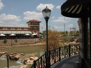 The apartments are planned in Allen's Watters Creek mixed-use development.