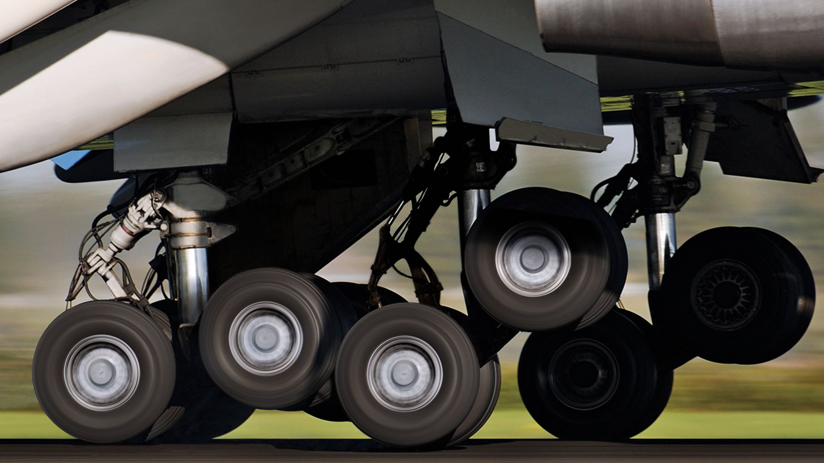 Collins Aerospace's landing gear business serves military customers such as Lockheed Martin, Northrup Grumman and Boeing.