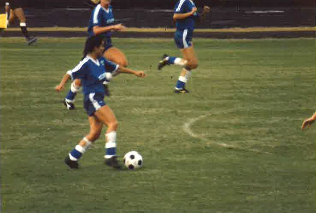 Laura Anton participated in the 1986 Olympic Festival in Houston.