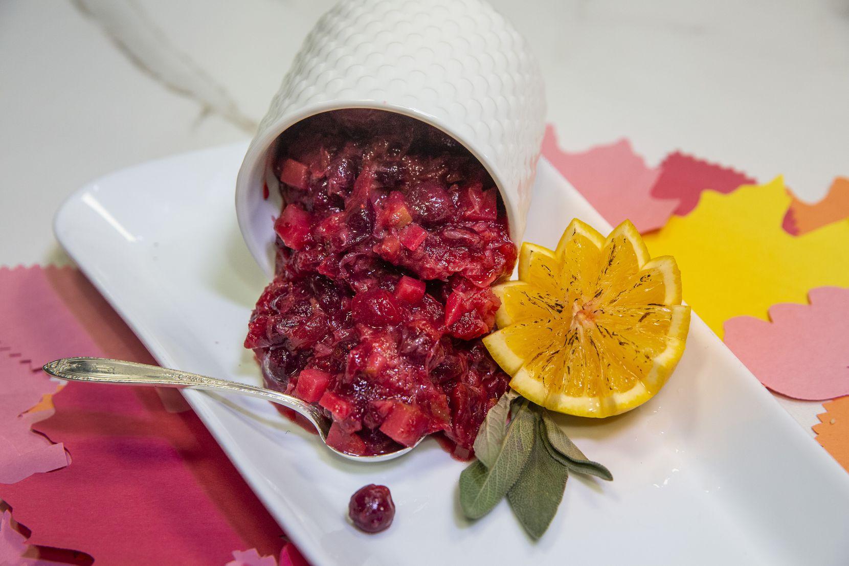 Cranberry Pear Sauce