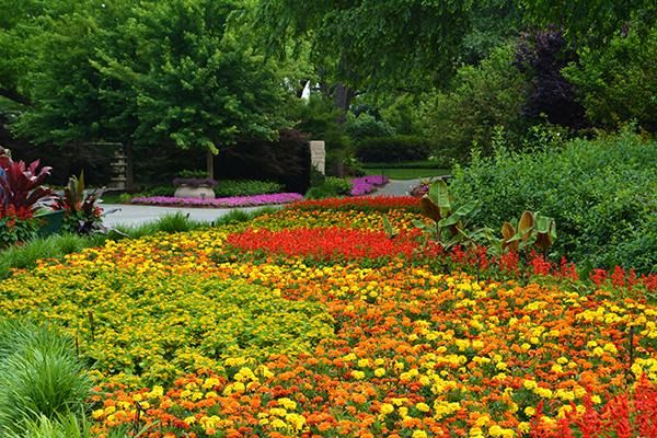 The Dallas Arboretum and Botanical Gardens was named One of the World's 15 Most Breathtaking Gardens by Architectural Digest.