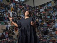 """Dallas artist Ciara Elle Bryant is one of five photographers involved in """"Ghost Studio: Pandemic Stories and Portraits,"""" which will take place at the Oak Cliff Cultural Center from Oct. 23 to Oct. 30, 2021."""