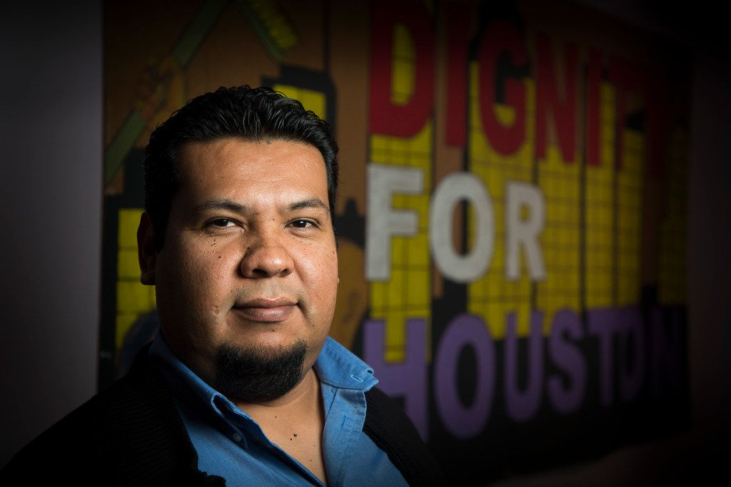 Cristian Chavez photographed on Wednesday, Dec. 27, 2017, in Houston. Chavez has lived in the U.S. for 18 years, and been on a deportation relief program called Temporary Protected Status for 16, after fleeing his home country of El Salvador. The nearly 263,000 Salvadorans who rely on the program to live safely in the United States worry that January will bring the bad news that they are on their final extension of the program. (Smiley N. Pool/The Dallas Morning News)