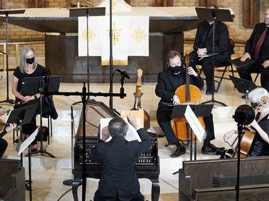 """Dallas Bach Society performs Handel's """"La resurrezione"""" at Zion Lutheran Church in Dallas on April 17."""