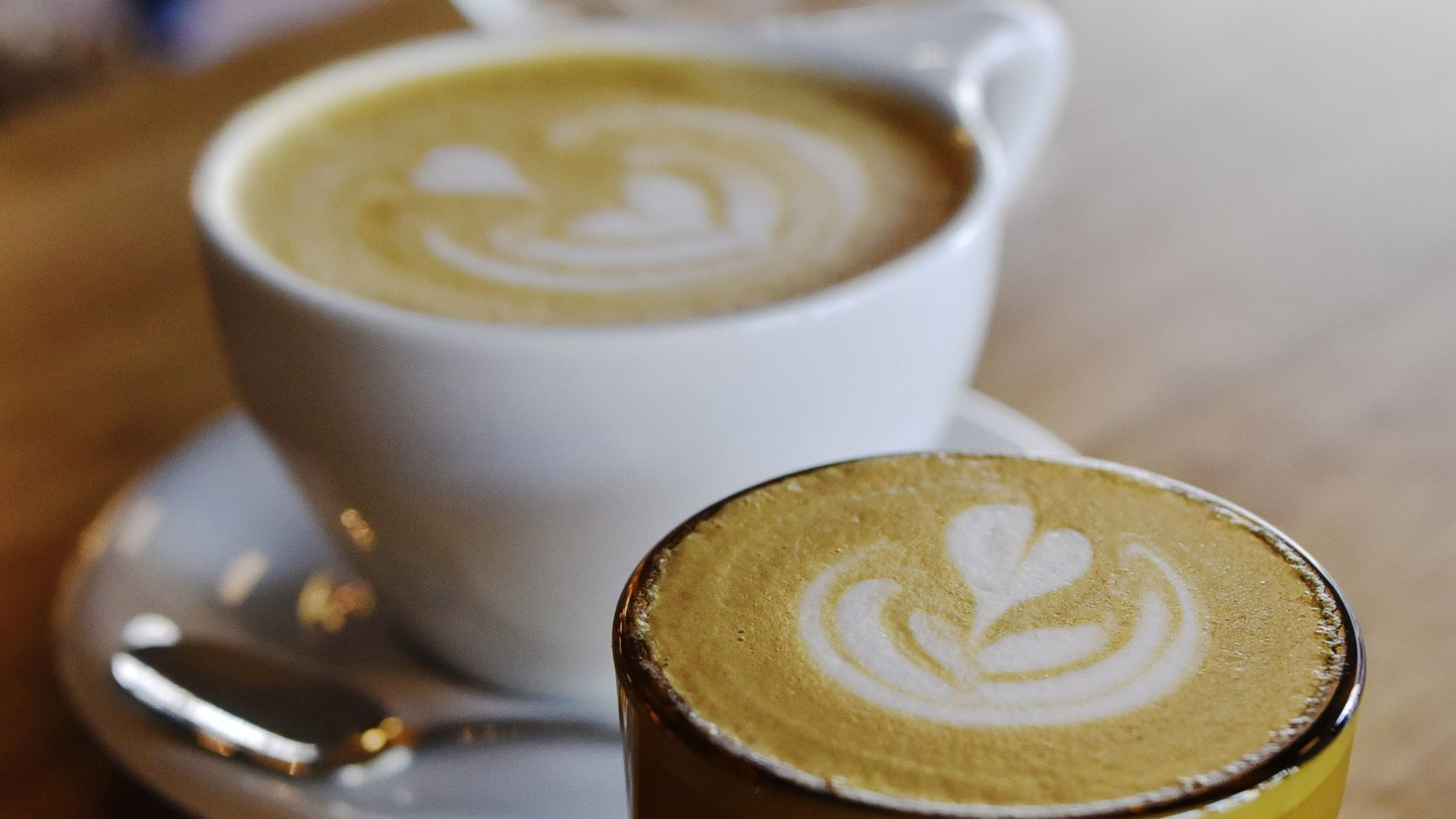 For the purposes of National Coffee Day, cortados and lattes count.