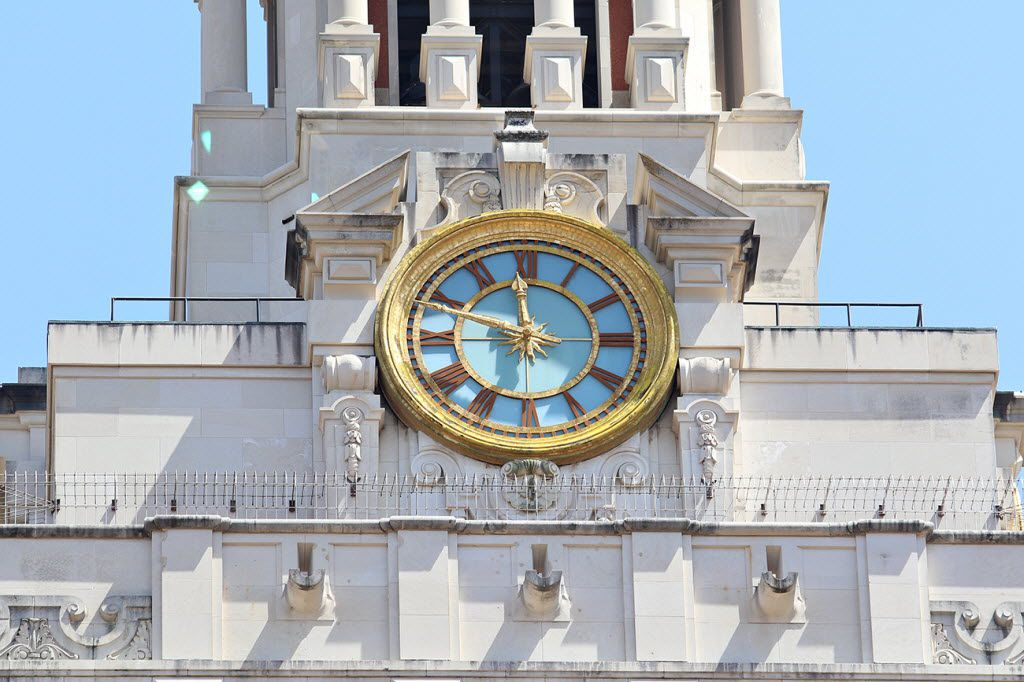 The clock on the University of Texas at Austin tower is stopped at 11:48am to mark the time Charles Whitman began shooting from the site 50 years ago. The architectural engineering student and Marine-trained sniper climbed to the observation deck of the 27-story structure in the heart of UT's flagship Austin campus, armed with rifles, pistols and a sawed-off shotgun.