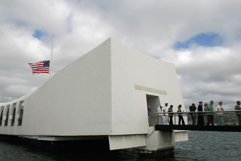 The USS Arizona Memorial is among the memorials in Honolulu that pay tribute to those killed and wounded during the attack on Pearl Harbor. Monday is the 79th anniversary of Japan's surprise attack.