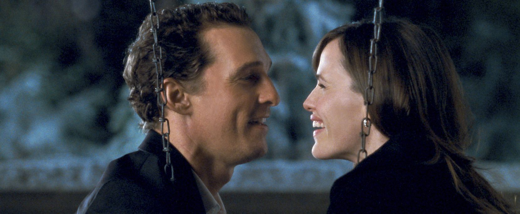 "Matthew McConaughey and Jennifer Garner appear in 2009's ""Ghosts of Girlfriends Past."""