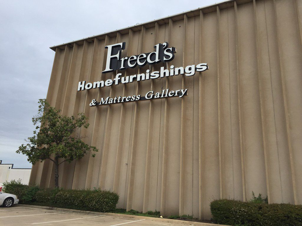 Freed's Furniture at 4355 LBJ Freeway in Dallas and the Plano store on West 15th Street are holding going-out-of-business sales.