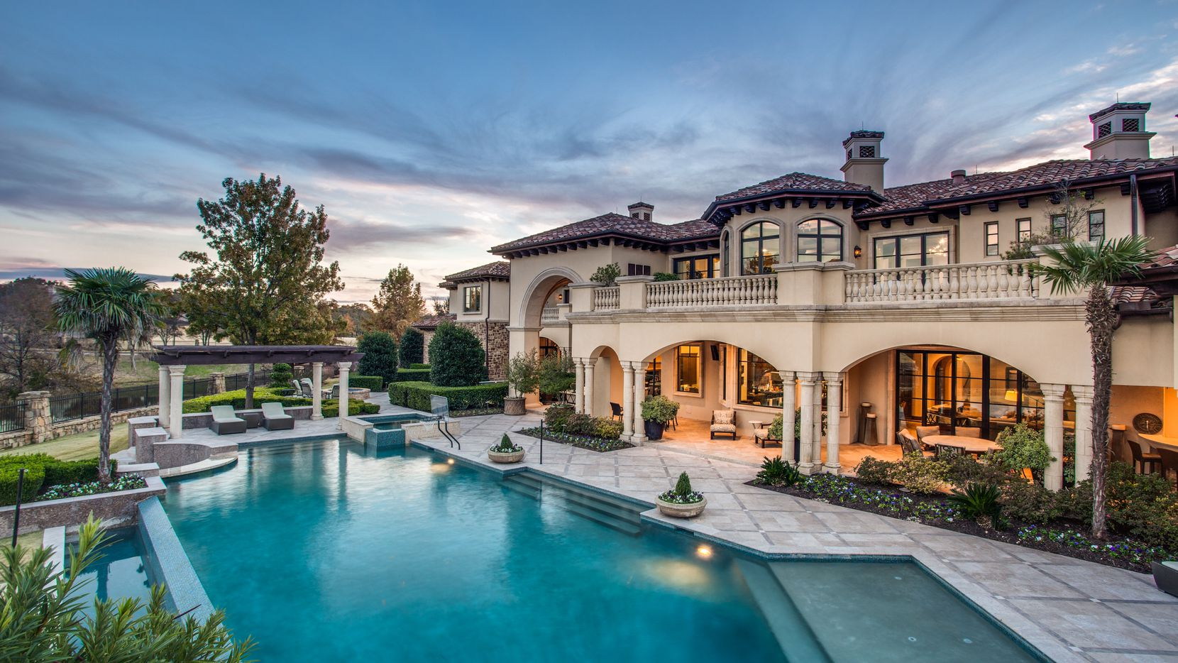The more than 16,000-square-foot Westlake estate is in the Vaquero community.