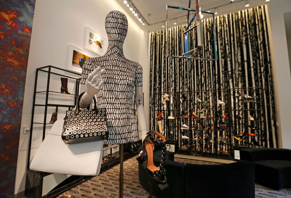 One of the first floor displays at Forty Five Ten, a new four-level store in downtown Dallas, photographed on Friday, November 11, 2016. (Louis DeLuca/The Dallas Morning News)