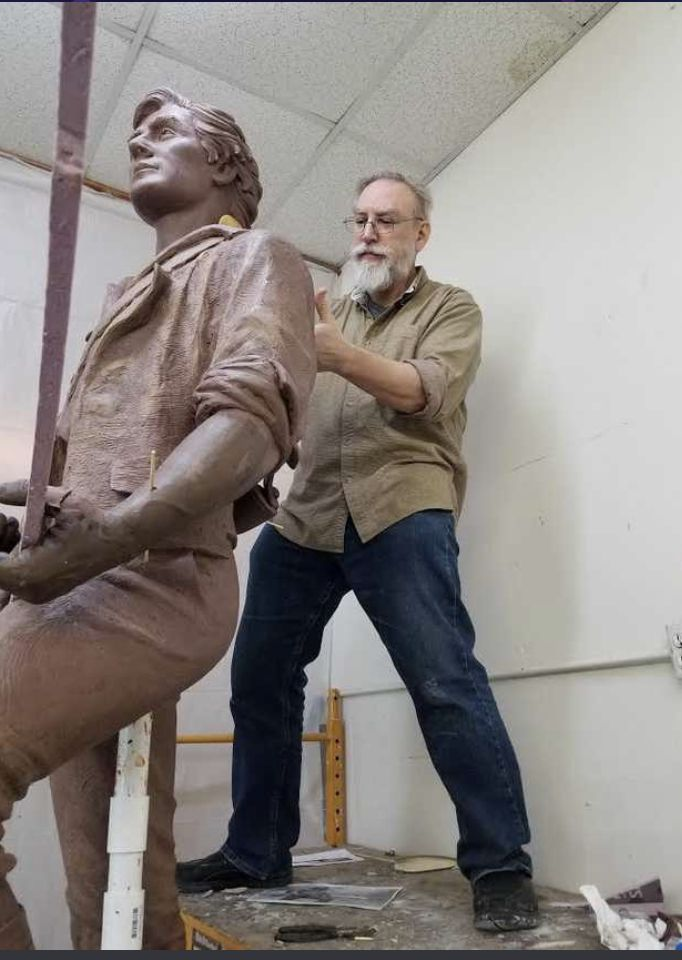 Richland Hills sculptor Deran Wright had considered a statute honoring the Jones family and one of Texas' first integrated restaurants, but the project never materialized.