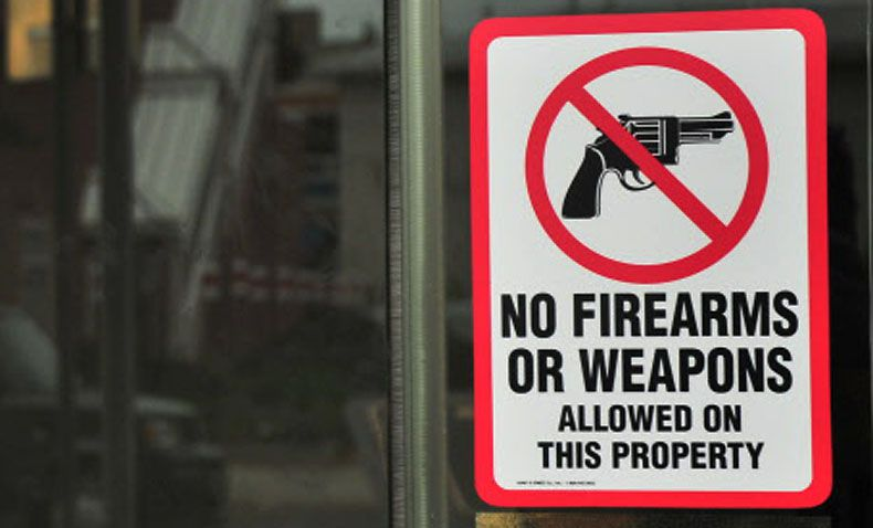 A bill approved by the Texas Senate would allow for fines of up to $10,000 against Texas governmental agencies found to have posted signs improperly barring licensed Texans from carrying firearms on their premises.